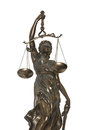 Femida justice allegorical personification of the moral force in judicial systems struggle of the law against a crime Royalty Free Stock Images