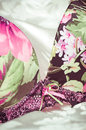 Feminine lacy underclothes background Stock Images