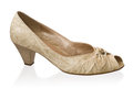 Feminine loafer Royalty Free Stock Images