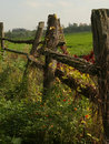 The Fence and Farm Stock Photography