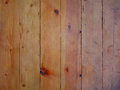 A fence made of wooden planks close-up Royalty Free Stock Photo