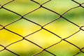 Fence Metallic Rusty Net Security Wire Royalty Free Stock Photo