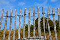 Fence Sea coast atlantic Royalty Free Stock Images
