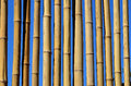 A fence wall made from a bamboo Royalty Free Stock Image