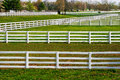 Fences Galore Royalty Free Stock Photo