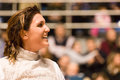 Fencing cup torino woman foil championship Stock Photography