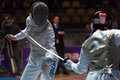 Fencing cup torino woman foil championship arianna errigo winner Stock Photo