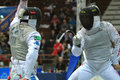 FENCING WORLD CUP: Foil Venice's Trophy - BALDINI Stock Images