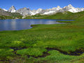Fenetre Lakes 2, European Alps Royalty Free Stock Photo