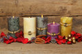Feng Shui candles Royalty Free Stock Photography