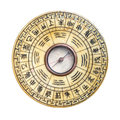 Feng Shui Compass Isolated Royalty Free Stock Photo