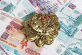 Feng shui money frog. Royalty Free Stock Image