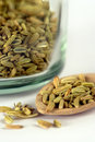 Fennel seeds Stock Photos