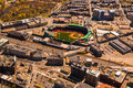 Fenway Park aerial Royalty Free Stock Photo