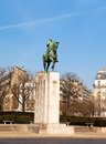 Ferdinand Foch monument, Trocadero, Paris, Stock Photography