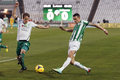 Ferencvaros vs. Gyori ETO OTP Bank League football match Royalty Free Stock Photography