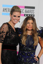 Fergie heidi klum and at the american music awards arrivals nokia theater los angeles ca Stock Photo
