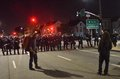 Ferguson decision protests in oakland california after the missouri grand jury refused to indict police officer for shooting Stock Photos