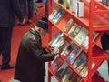 Feria de libro de gaudeamus Imagen de archivo