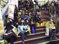 Feria de libro de gaudeamus Fotos de archivo