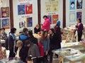 Feria de libro de gaudeamus Imagenes de archivo