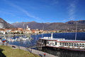 Feriolo by Baveno, Lago Maggiore, Italy Royalty Free Stock Photography