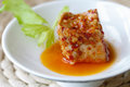 Fermented bean curd Royalty Free Stock Photo