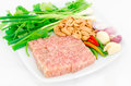 Fermented ground pork Royalty Free Stock Photography