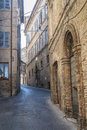 Fermo - Historic buildings Stock Image