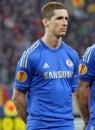 Fernando Torres of Chelsea London Royalty Free Stock Photo