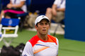 Fernando verdasco plays center court at the winston salem open Stock Image