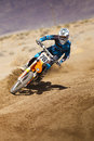 Fernley sandbox dirt bike racer rd annual gp motor cross race in nevada held on march th and th Royalty Free Stock Images