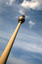 Fernsehturm berlin television tower in Stock Photography