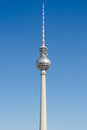 Fernsehturm television tower in berlin is a the city centre the was constructed between and by the administration of the german Stock Photo