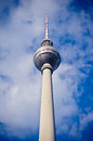 Fernsehturm tower in berlin germany Stock Image