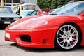Ferrari 360 modena challenge Royalty Free Stock Photo