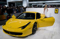 Ferrari 458 Italia at NAIAS Royalty Free Stock Photo