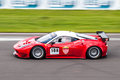 Ferrari 458 race car Royalty Free Stock Photography