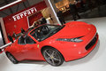 Ferrari 458 Spider - Geneva Motor Show 2012 Royalty Free Stock Photography