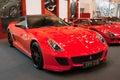 Ferrari 599 GTO Royalty Free Stock Photo