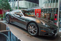 Ferrari california in abu dhabi exposed world great model of new supercar Stock Photo