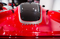 Ferrari Car FXX K Rear View Royalty Free Stock Photo