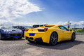 Ferrari cars Royalty Free Stock Photo