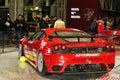 Ferrari Challenge Motorshow Stock Images