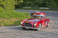 Ferrari 250 Europa GT  (1955) in Mille Miglia 2016 Royalty Free Stock Photo