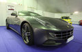 Ferrari ff at the exhibition in estepona july andalusia spain Royalty Free Stock Photography