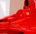 Ferrari formula one car Royalty Free Stock Photos