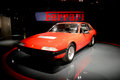 Ferrari 365 GT4 2+2 at Museo Nazionale dell'Automobile Royalty Free Stock Photo