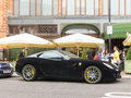 Ferrari 599 GTB Fiorano Royalty Free Stock Photo