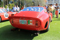 Ferrari gto racecar rear s classic view surrounded by people at cavallino concorso d eleganza at the breakers in west palm beach Stock Images